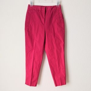 THE LIMITED Flat Front Ankle Trousers 2 Business